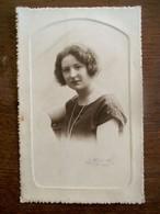 Oude Foto Van DAME 1927 Door Fotograaf   G.   RENTMEESTERS  Louvain - Photos