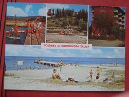 """Izola / Isola D'Istria - Mehrbildkarte """"Pozdrav Iz Simonovega Zaliva"""" - Slovenia"""