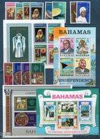 Bahamas 1973/1978 Lotto Serie / Lot Set + BF ** MNH / VF - Bahamas (1973-...)