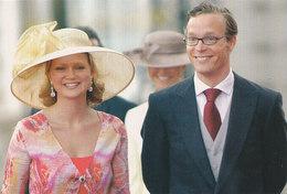 DP00651 - NETHERLANDS - DUTCH ROYALTY - PRINCESS MARIA CAROLINA PRINCE JAIME - ROYAL FAMILY - CP ORIG. ROYAL PRESS 185 - Familles Royales