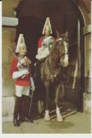 Postcard - Mounted And Dismounted Sentries Of The Lifeguard,Whitehall London  - Unused Very Good - Ansichtskarten