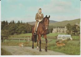 Postcard - Royalty - H.R.H. - The Princess Anne With Corgy -  Unused Very Good - Ansichtskarten