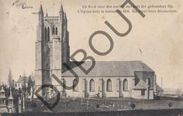 Postkaart - Carte Postale LOKEREN Kerk Voor De Oorlog Met Huis Gebroeders Six/ Eglise Maison MM. Six (L51) - Lokeren