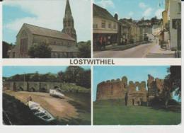 Postcard - Lostwithiel Four Views  - Posted 10th June 1978 Very Good - Ansichtskarten