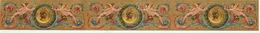 5 BANDES 1893-1894 étiquette Boite à Cigare Havane - Etiquettes