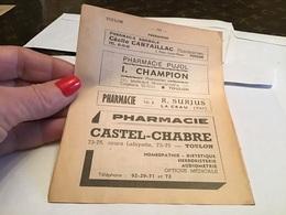 Toulon Pharmacie Castel Chabre La Crau Asile Dispensaire Maison De Repos Pharmacien - France