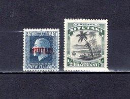 Aitutaki   1918-20  .   Y&T  Nº   18-23    *   ( C/ Charniere ) - Aitutaki