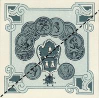 1893-1894 étiquette Boite à Cigare Havane - Etiquettes