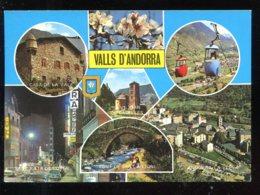 CPM Andorre VALLS D'ANDORRA Diferents Aspectes Multi Vues - Andorre