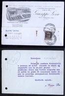 CARTOLINA COMMERCIALE - TRAVEDONA - VARESE  - 1942 - DITTA G. LEVA - Negozi