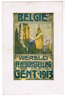 Gent 1913, Wereldtentoonstelling, Publicitaire Postkaart Met Afbeelding Van Affiche (pk52927) - Gent