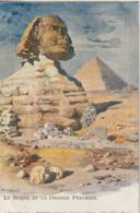 Le Sphinx Et La Grande Pyramide Photographe Dittrich (LOT A7) - Sphinx