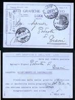 CARTOLINA COMMERCIALE - LODI - 1930 - ARTI GRAFICHE DELL'AVO - Negozi