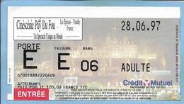 Les Epesses (85) Cinéscénie Du Puy Du Fou 2 Scans 28-06-1997 - Tickets D'entrée