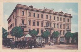 CARTOLINA - POSTCARD - PADOVA - STABILIMENTO TERMALE - ALBERGO TRIESTE - ABANO TERME - Padova