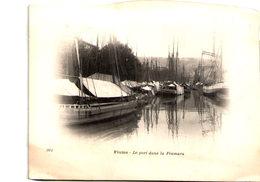 Croatie - FIUME - Le Port Dans La Fiumara - Cliché Tiré Du Tour Du Monde Du Navire Duguay-Trouin, Début 20e - Croatie