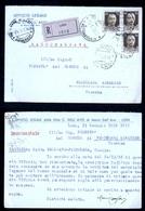 CARTOLINA COMMERCIALE - LODI - 1939 - ARTI GRAFICHE DELL'AVO - UFFICIO LEGALE - SPEDITA CON RACCOMANDATA - Negozi