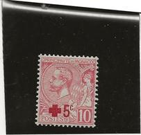 MONACO -N°26 NEUF X - AU PROFIT DE LA CROIX ROUGE - ANNEE 1914 - Monaco
