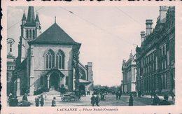 Lausanne, Place St François, Attelage (871) - VD Vaud