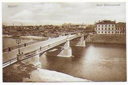 Cpa Bon Etat , Lituanie , Wilno , Carte Tres Propre , Most   Zwierzyniecki - Lituanie