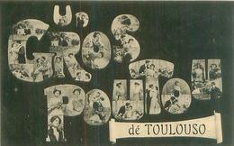 Cpa -  Un  Gros Poutou   De Toulouse  , Fantaisies            D254 - Toulouse