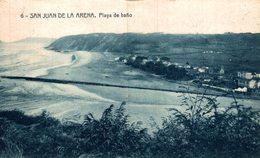 ASTURIAS. SAN JUAN DE LA ARENA. PLAYA DE BAÑO. FOTOTIPIA THOMAS. ED. IMP. FERNANDEZ - Asturias (Oviedo)