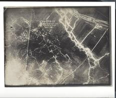 WW1 14-18  ,   3  Vues Aériennes Des Tranchées  Env. 17 X 23 Cm Berry Au Bac - Le Choléra - Cne Du Roi De Saxe - War, Military