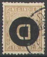 Nederlands Indie NVPH Nr Dienst 3f Gebruikt / Used - Indes Néerlandaises