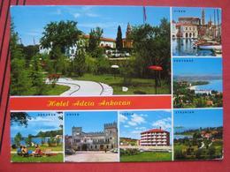 "Ankaran / Ancarano - Mehrbildkarte ""Hotel Adria Ankaran"" / Piran, Portoroz, Strunjan, Izola, Koper - Slovenia"