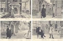 Série 8 CPA Fantaisies – Le Petit Avocat - Fantaisies