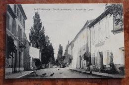 SAINT JEAN DE MUZOLS (07) - ROUTE DE LYON - France