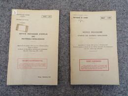 TTA 120 - Notice Provisoire D'emploi Des Matériels Infra-rouge - 03/09 - Books, Magazines, Comics