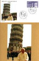 VIAGGIO DI PAPA GIOVANNI PAOLO II A PISA 24-9-1989 - Religioni