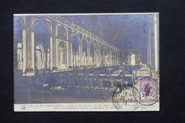 """FRANCE - Oblitération """" Versailles Château Congrès De La Paix """" En 1919 Sur Carte Postale - L 21329 - Marcophilie (Lettres)"""