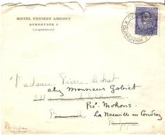 Yougoslavie 1935? - Lettre De Dubrovnik à Bruxelles /Belgique - Reroutée à Neuville En Condroz - YT 262 - 1931-1941 Kingdom Of Yugoslavia
