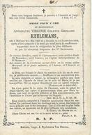 DP ANTOINETTE KEULEMANS - MALINES 1839-1869 - Devotieprenten