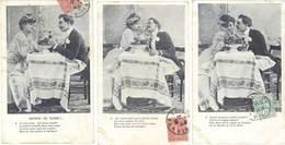 Série 6 CPA Fantaisies – Sourire De Femme - Fancy Cards
