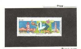 Brazil - 2018 - Lighthouse Geogetown On Tourism Stamp MNH (**) - Phares