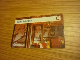 Costa Atlantica Ship Cruise Cruises Cabin Magnetic Boarding Key Card (eu Guest) - Cartes D'hotel