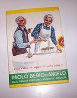 Olio D'oliva Oneglia Cartolina Catalogo Pubblicitaria Paolo Berio 1^ Ed. 1980 - Non Classés
