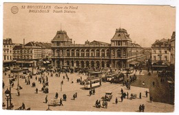 Brussel, Bruxelles, Gare Du Nord (pk52934) - Spoorwegen, Stations