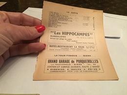 Hyeres La Capte Torrent Presqu'île De Giens  La Madrague Bar Restaurant Bungalow - France