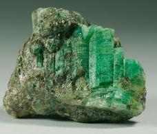 Mineral - Smeraldo (Izumrudnye Kopi Area, Malyshevo, Ekaterinburg, Sverdlovsk Oblast, Russia) - Lot. 5 - Minerals