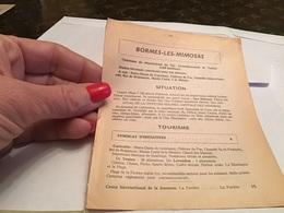 Normes Les Mimosas  Situation Tourisme Hôtel Restaurant Téléphone Utiles Pension De Famille - France