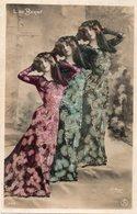Celebrités --L. De BERNY - Photo Triple Et Legeres Paillettes - Reutlinger - Künstler