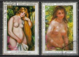 GUINEE  EQUATORIALE    -    Peintures   /    Renoir   -    Oblitérés - Guinée Equatoriale