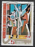 GUINEE  EQUATORIALE    -    Peinture    /    Picasso   -    Oblitéré - Guinée Equatoriale
