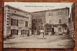 COLOMBIER LE JEUNE (07) - PLACE DE L'EGLISE - France