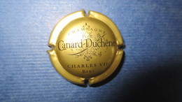 CAPSULE CHAMPAGNE CANARD DUCHENE CHARLES VII. Or Et Noir. Petit Sabre - Canard Duchêne
