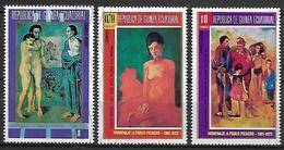 GUINEE  EQUATORIALE    -    Peintures    /    Picasso   -    Oblitérés - Guinée Equatoriale